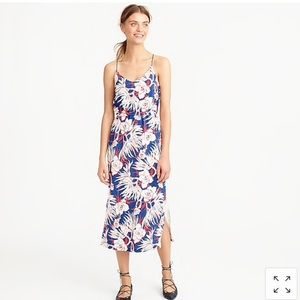 "J. Crew ""Carrie"" floral dress"
